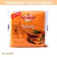 پنیر اسلایسی  چدار 40 درصد 150گرمی پرزیدنت
